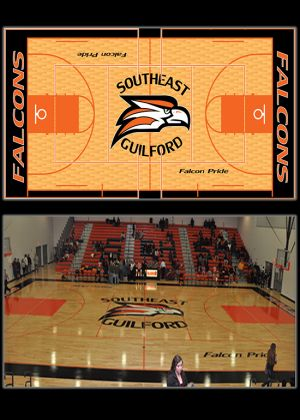 South East Guilford Basketball Court